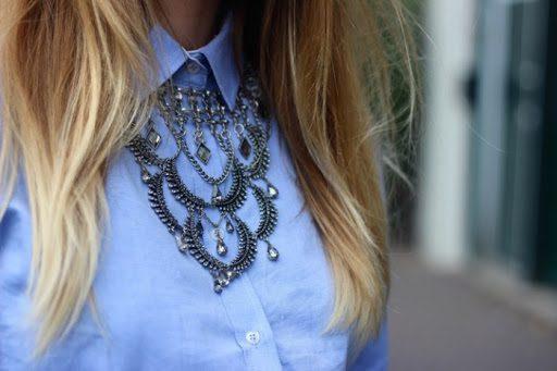 Πώς να φορέσεις σωστά ένα εντυπωσιακό κολιέ